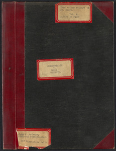 Sacco-Vanzetti Case Records, 1920-1928. Transcripts. Bound Trial Transcripts, Vol. 8, pp. 2876-3402 (belonging to Fred H. Moore). Box 33, Folder 2, Harvard Law School Library, Historical & Special Collections