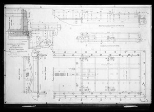 Engineering Plans, Sudbury Dam, iron gates, Sheet No. 3, Southborough, Mass., Jul. 1896