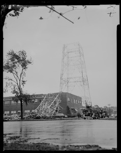 Damage to Westinghouse tower
