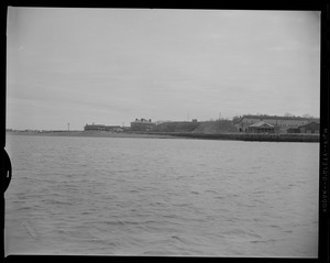View of George's Island from the water