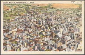 Aerial view of Johannesburg, Johannesburg, S. Africa