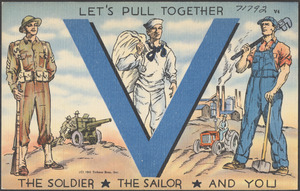 Let's pull together, the soldier, the sailor and you