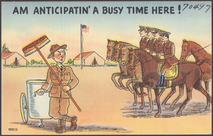Am anticipatin' a busy time here!