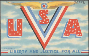 USA. Liberty and justice for all