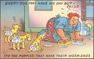 Every dog may have his day but - it's the puppies - that have their week-ends