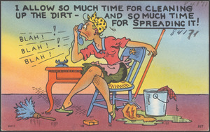 I allow so much time for cleaning up the dirt - and so much time for spreading it!