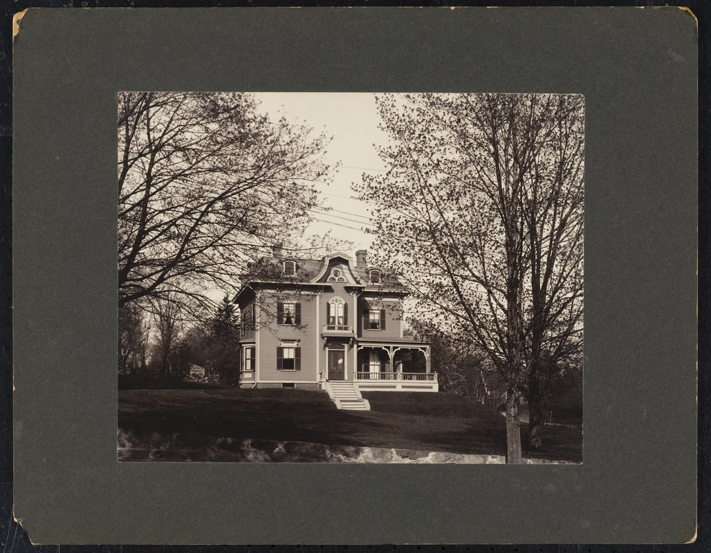 Newton Photographs Collection : Miscellaneous Newell family photographs, 1800s-1900s - House -