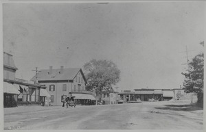 Newton photographs oversize - Newton Village Shops - Auburndale Square -