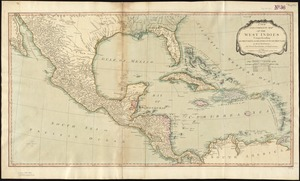 A new and complete map of the West Indies
