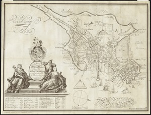 To His Excellency William Burnet, Esqr., this Plan of Boston in New England is humbly dedicated