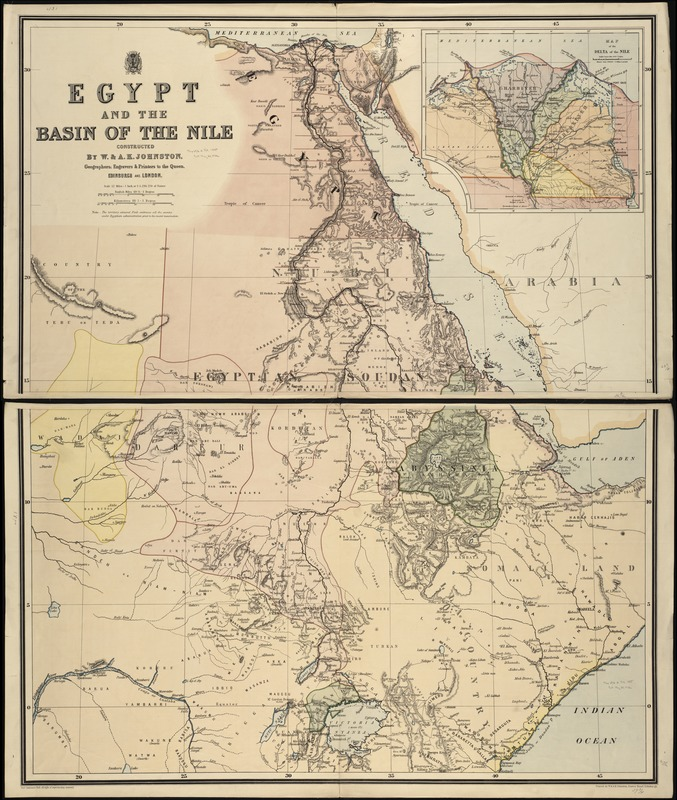 Egypt and the basin of the Nile
