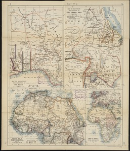 W. & A.K. Johnston's maps to illustrate the Niger and Upper Nile questions