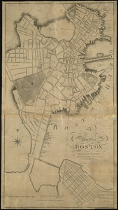 A new plan of Boston