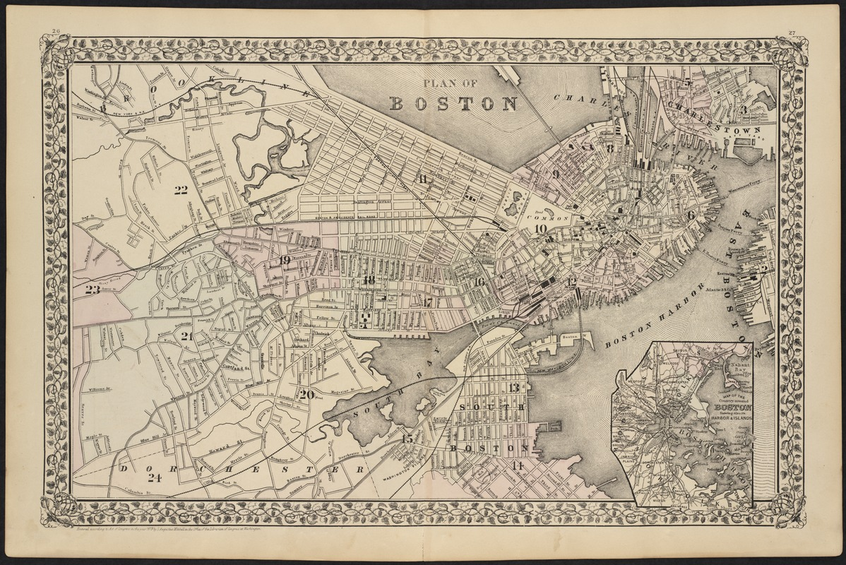 Plan of Boston