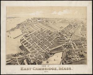 View of East Cambridge, Mass., 1879