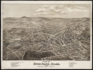 View of Hyde Park, Mass., 1879