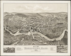 View of Watertown, Mass