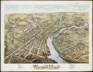 View of Waltham, Mass