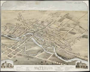 Bird's eye view of Waterloo