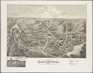 View of Ashland, Mass