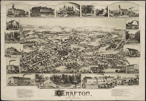View of Grafton, Massachusetts