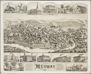 View of Medway, Massachusetts