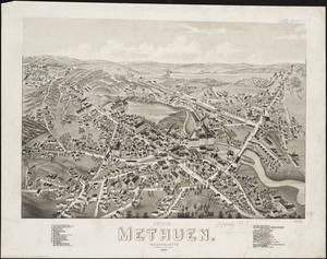 View of Methuen, Massachusetts