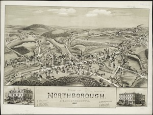 View of Northborough, Massachusetts