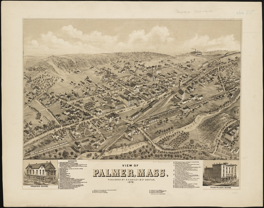 View of Palmer, Mass