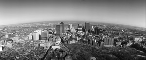 Downtown and Boston Common aerial, Boston