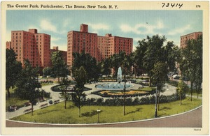 The Center Park, Parkchester, The Bronx, New York, N. Y.