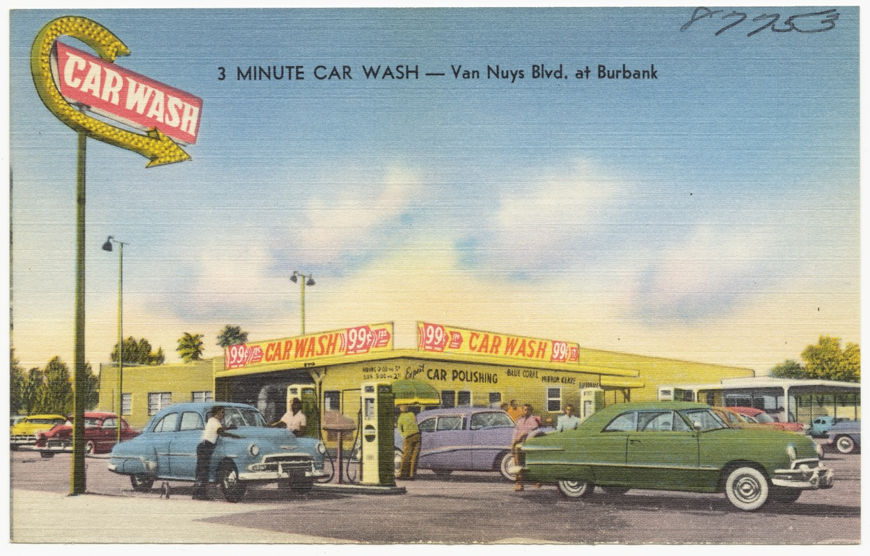 3 Minute Car Wash -- Van Nuys Blvd. at Burbank