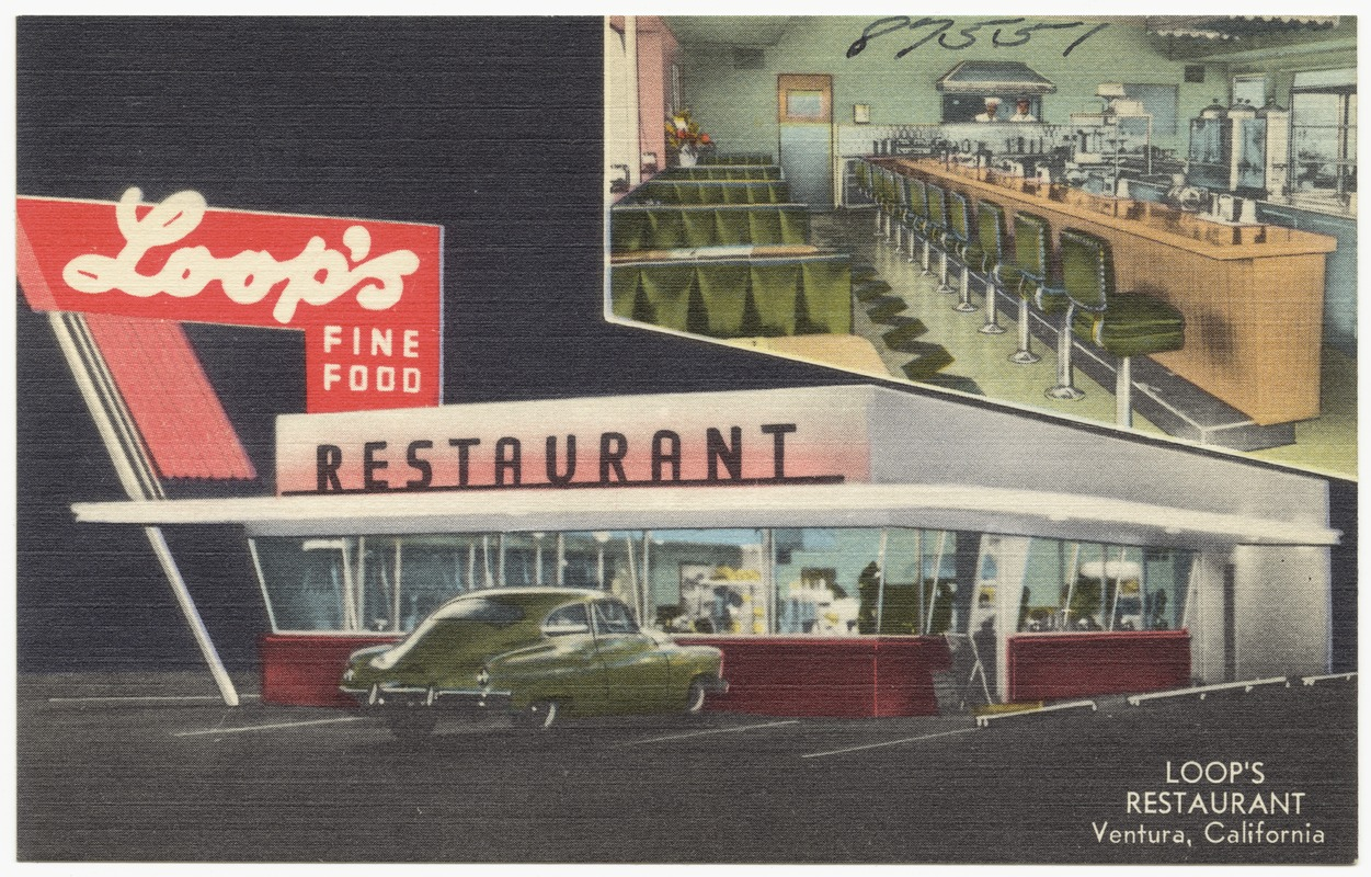 Loop's Restaurant, Ventura, California
