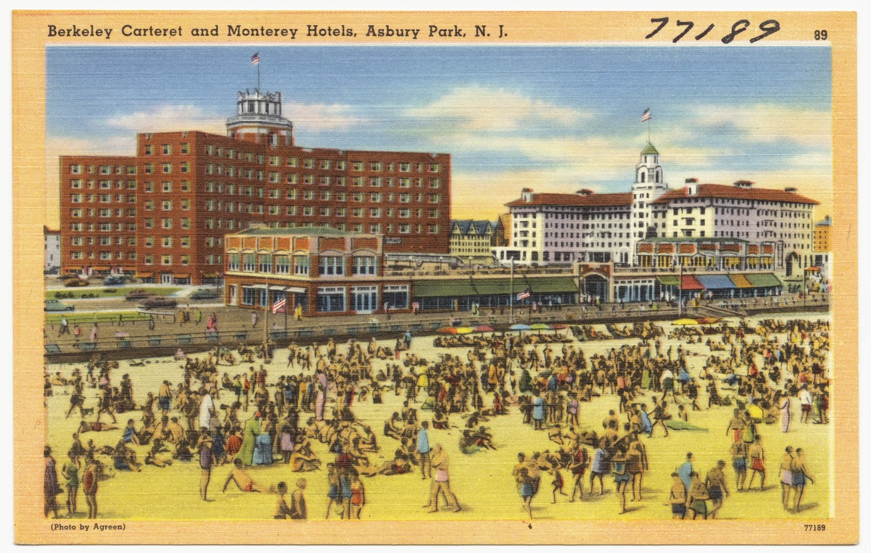 Berkeley Carteret And Monterey Hotels Asbury Park N J