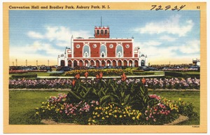 Convention hall and Bradley Park, Asbury Park, N. J.