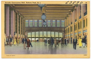 Arcade Convention Hall, Asbury Park, N. J.