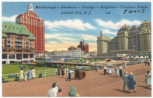 Marlborough -- Blenheim -- Claridge -- Brighton -- Traymore Hotels, Atlantic City, N. J.