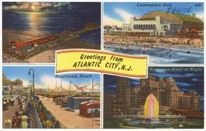 Greeting from Atlantic City, N. J.