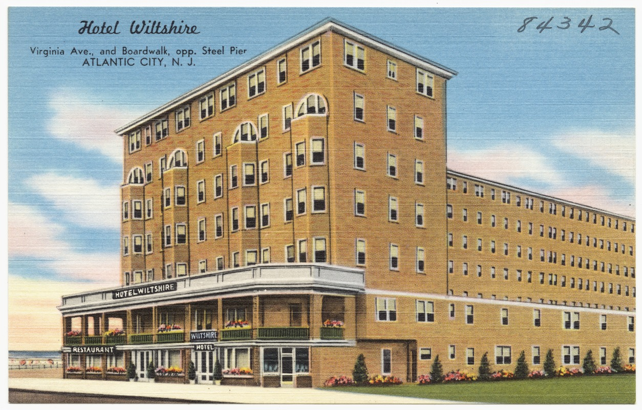 Hotel Wiltshire Virginia Ave And Boardwalk Opp Steel Pier Atlantic City N J