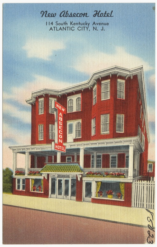 New Absecon Hotel 114 South Kentucky Avenue Atlantic City N J