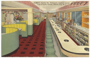 Albert's Garden Bar, restaurant, cocktail lounge, 1730-32 Pacific Avenue, Atlantic City, N.J.