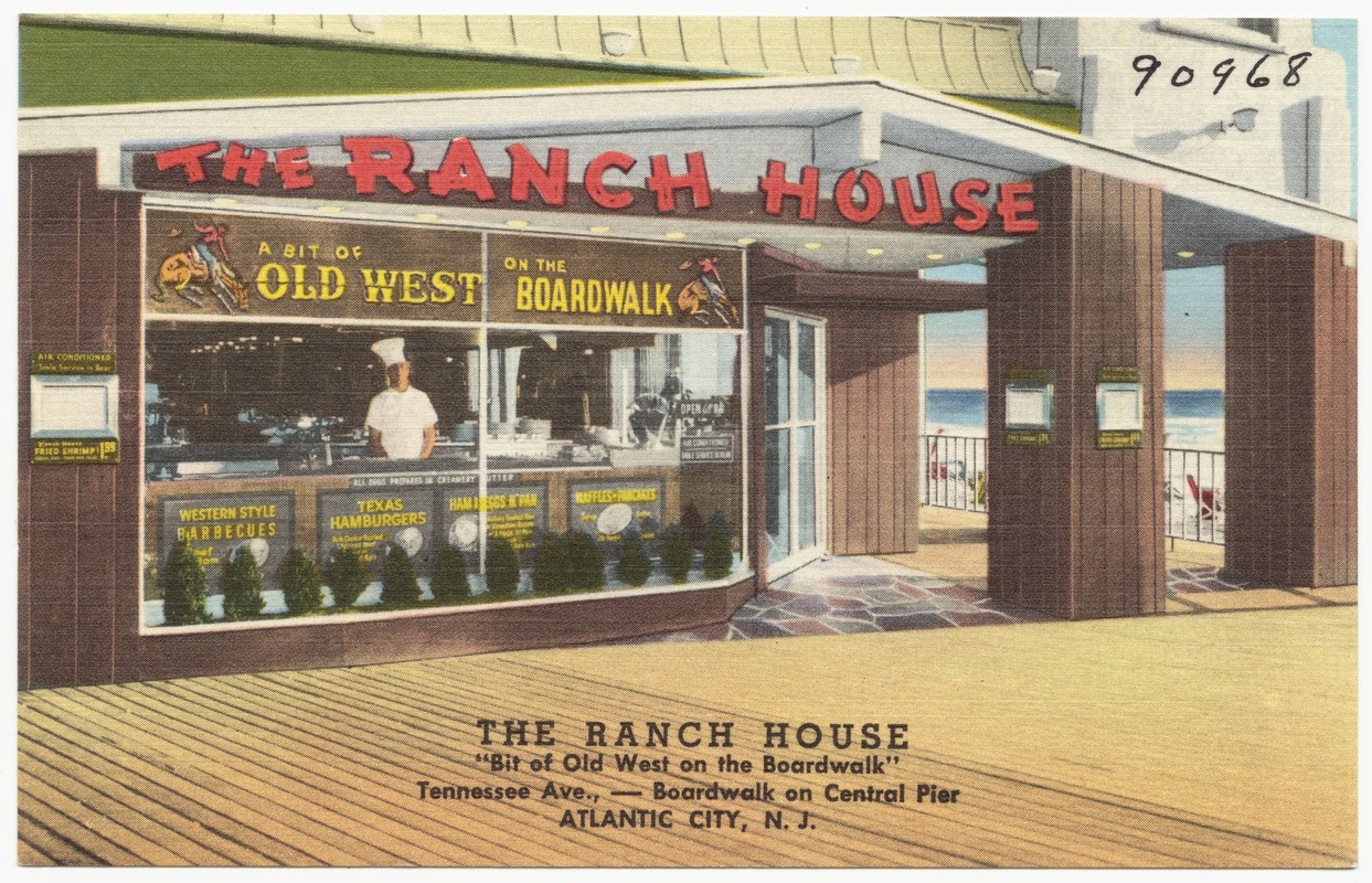The Ranch House Bit Of Old West On The Boardwalk