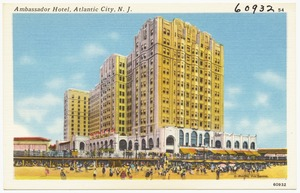 Ambassador Hotel, Atlantic City, N. J.