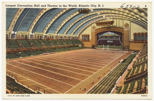 Largest convention hall and theatre in the world, Atlantic City, N. J.