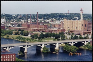View of mills in Lawrence, Massachusetts