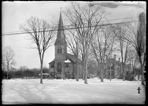 First Church, Longmeadow, northwest view