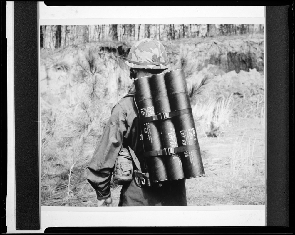 CEMEL, equipment, load-carrying, ALICE, w/mortar rounds