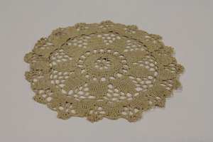Crocheted Doily, made by Laura Bridgman