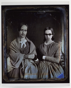 Portrait of Laura Bridgman and Sarah Wight