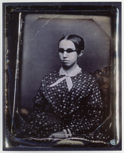 Color Print of Daguerrotype of Laura Bridgman